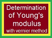Determination of Young