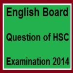 English Board Question of HSC Examination 2014