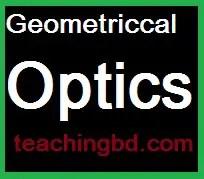 Geometriccal Optics