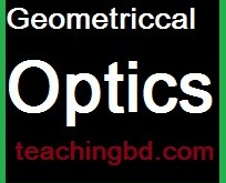 Geometriccal Optics