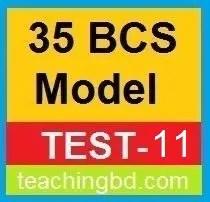 35 BCS Model Test-11