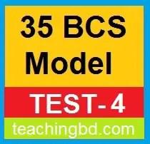 35 BCS Model Test-4