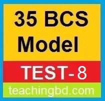 35 BCS Model Test-8