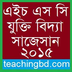 Logic 2nd Paper Suggestion and Question Patterns of HSC Examination 2015-1 1