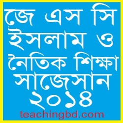 Islam and moral education Suggestion and Question Patterns of JSC Examination 2014-1