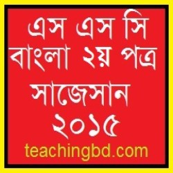 Bengali 2nd Paper Suggestion and Question Patterns 2015-2 2