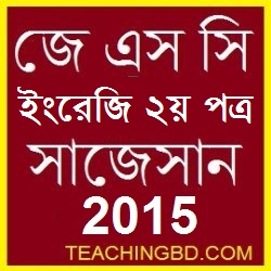 English 2nd Paper Suggestion and Question Patterns of JSC 2015