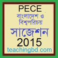 Bangladesh and Bisho Porichoy Suggestion and Question Patterns of PECE Examination 2015