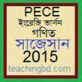 EV Mathematics Suggestion and Question Patterns of PECE Examination 2015