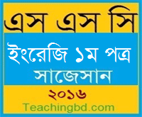 English 1st Paper Suggestion and Question Patterns 2016
