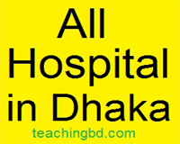 All Hospital in Dhaka 10