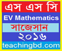EV Mathematics Suggestion and Question Patterns of SSC Examination 2016-1