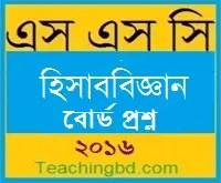 Accounting Board Question 2015 Rajshahi Board