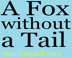 Story: A Fox without a Tail 1