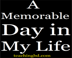 A Memorable Day in My Life 2