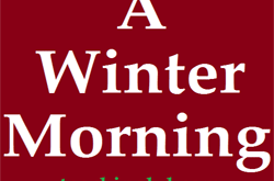 Write A Paragraph: A Winter Morning