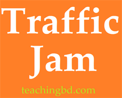 Write A Paragraph: Traffic Jam 1