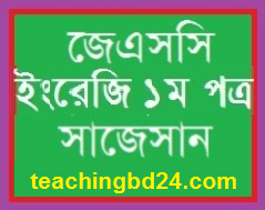 English 1 Suggestion and Question Patterns of JSC Examination 2018-2