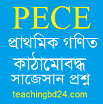 PECE Mathematics Structured questions and answer suggestion 2019