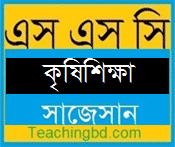 Agriculture Suggestion and Question Patterns of SSC Examination 2018