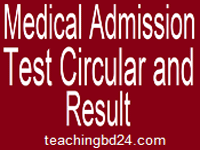 Medical Admission Notice 2017-18 | dghs.teletalk.com.bd 1