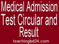 Medical Admission Notice 2017-18 | dghs.teletalk.com.bd 4