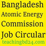 Bangladesh Atomic Energy Commission Job Circular 2017 1