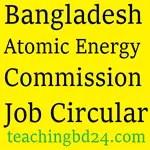 Bangladesh Atomic Energy Commission Job Circular 2017 1