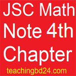 JSC Math Note 4th Chapter Algebraic equation and application 1