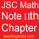 JSC Math Note 11th Chapter Information and Data