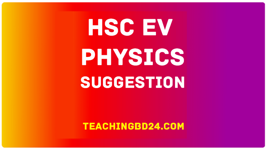 EV HSC Physics 2 Suggestion Question 2020-9