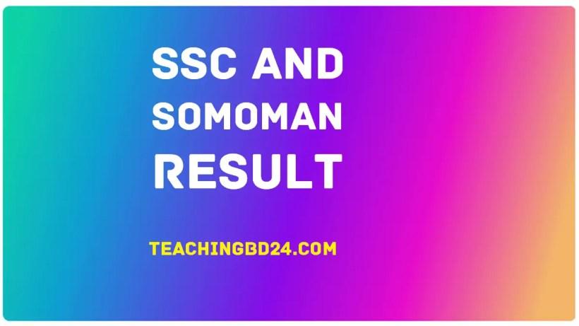 Full SSC Exam Result 2019 Mark Sheet Grade 3