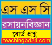 SSC Chemistry Question 2016 Sylhet Board