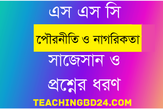 SSC Civics and Good Citizenship Suggestion and Question Patterns 2020-6 9
