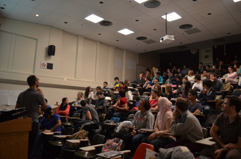McGill University Faculty of Engineering classroom.