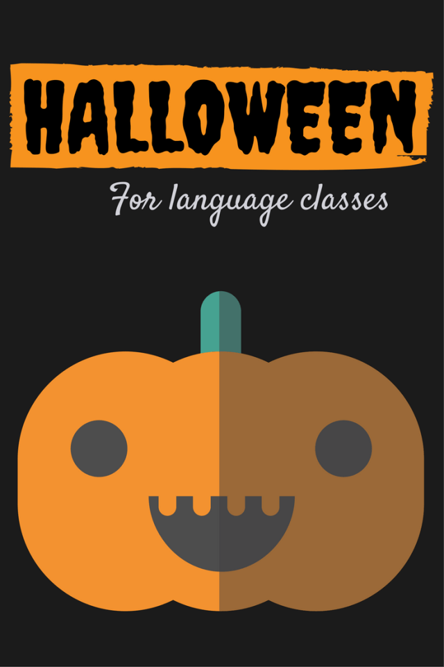 Ideas for celebrating Halloween in Spanish, French, German, and other language classes.