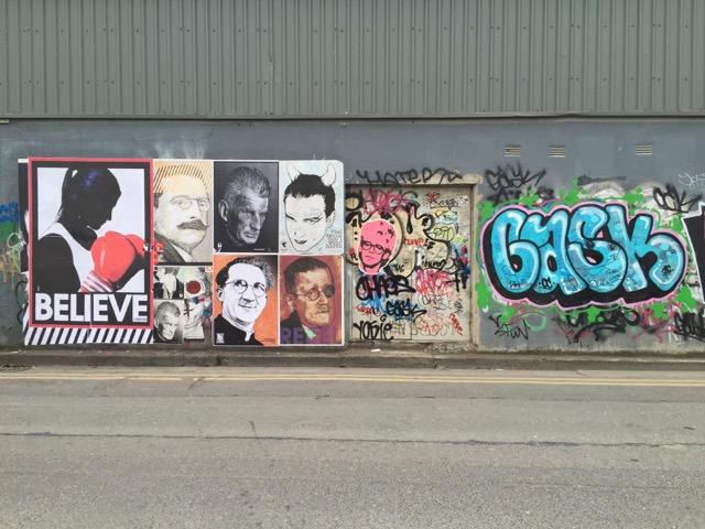 Hanover Quay Graffiti