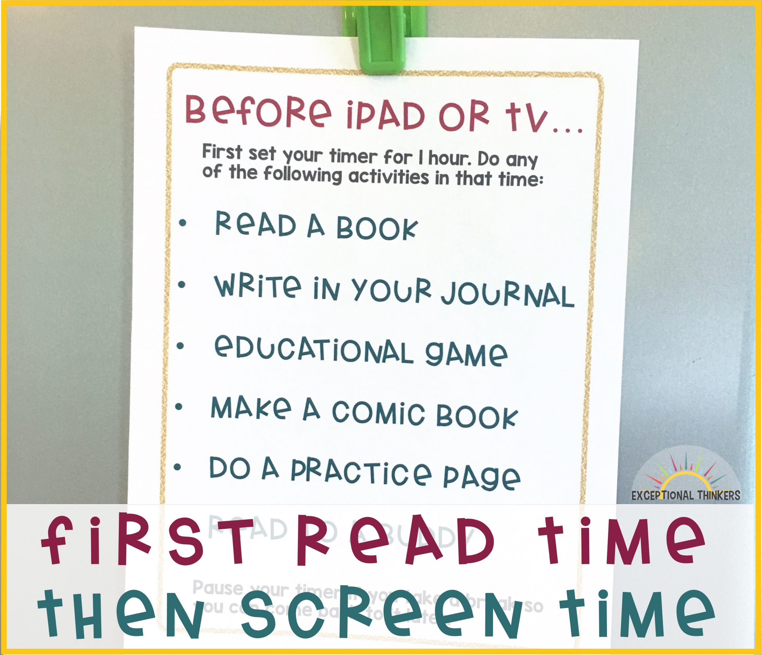 The Ultimate Hack to Limiting Screen Time for Kids