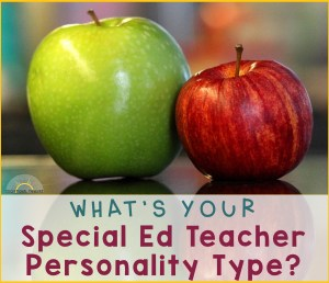 What is your special education personality type