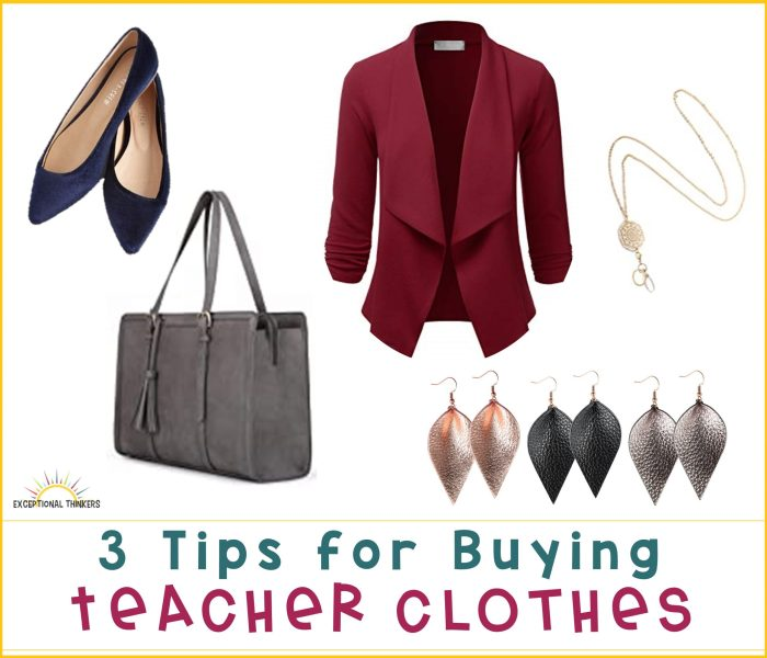 3 Tips for Buying Professional Teacher Clothes