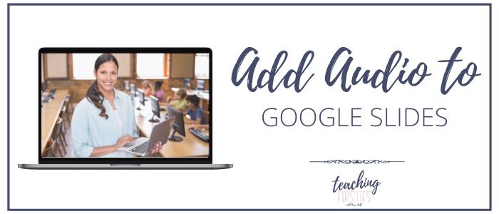 add audio to google slides