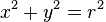 x squared