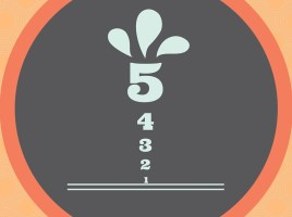 5, 4, 3, 2, 1