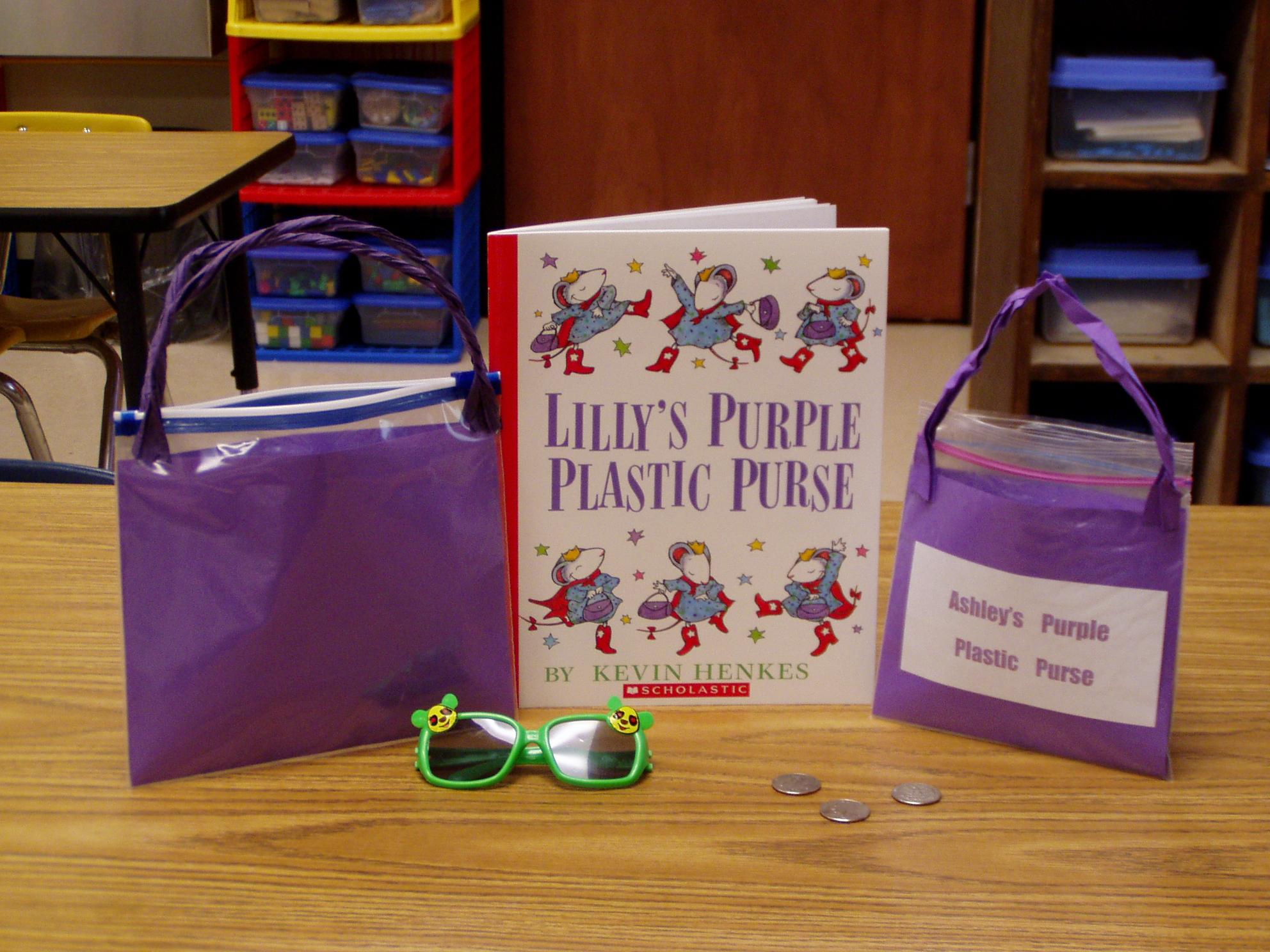 Kevin Henkes Lilly S Purple Plastic Purse Teaching