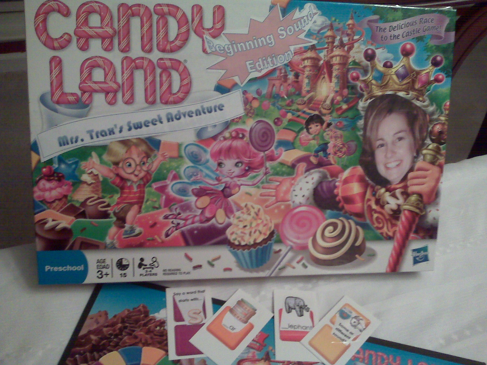 Candy Land Beginning Sounds Edition