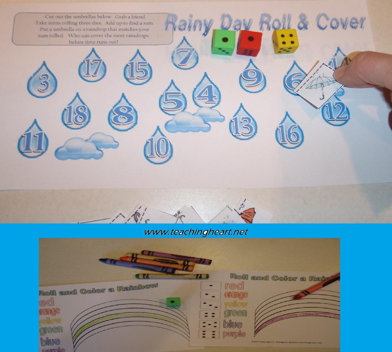 Three Free Rainy Day Printables Teaching Heart Blog