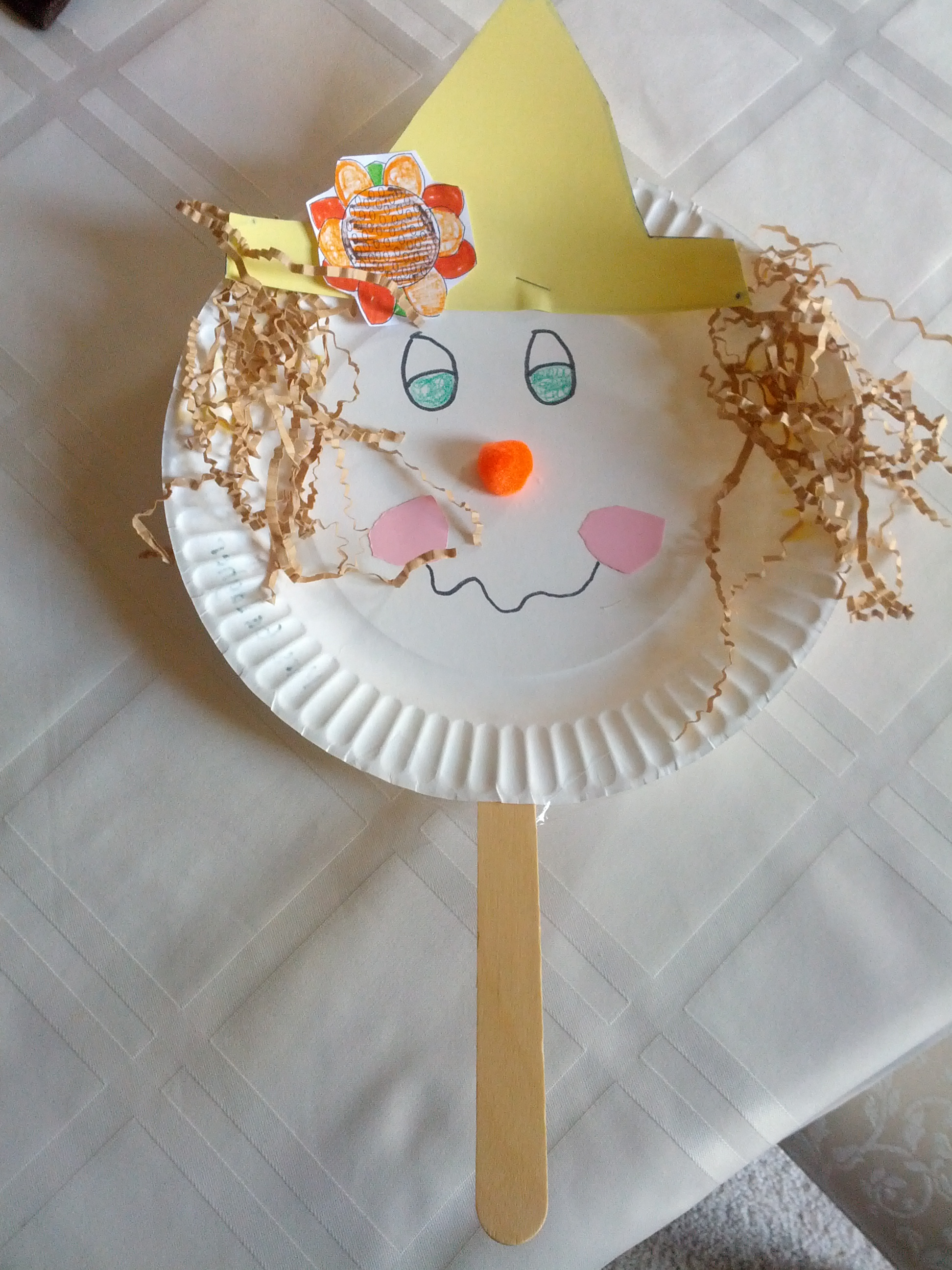Paper Plate Scarecrow Teaching Heart Blog