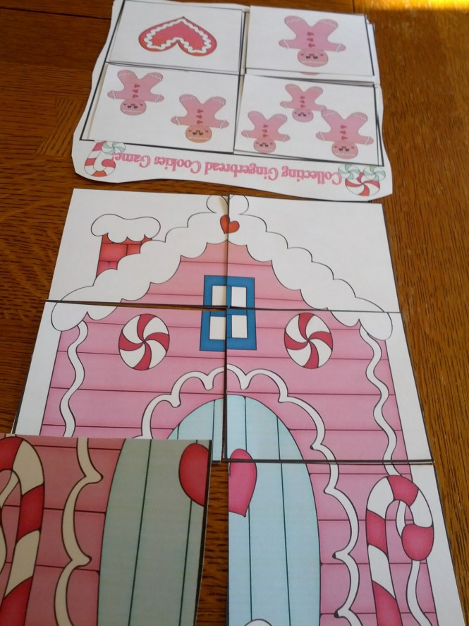 Gingerbread Collage Art For Kids