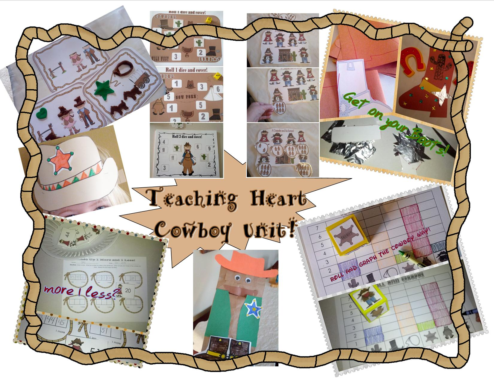 Cowboy Wild West Unit Is Here Woot Teaching Heart Blog