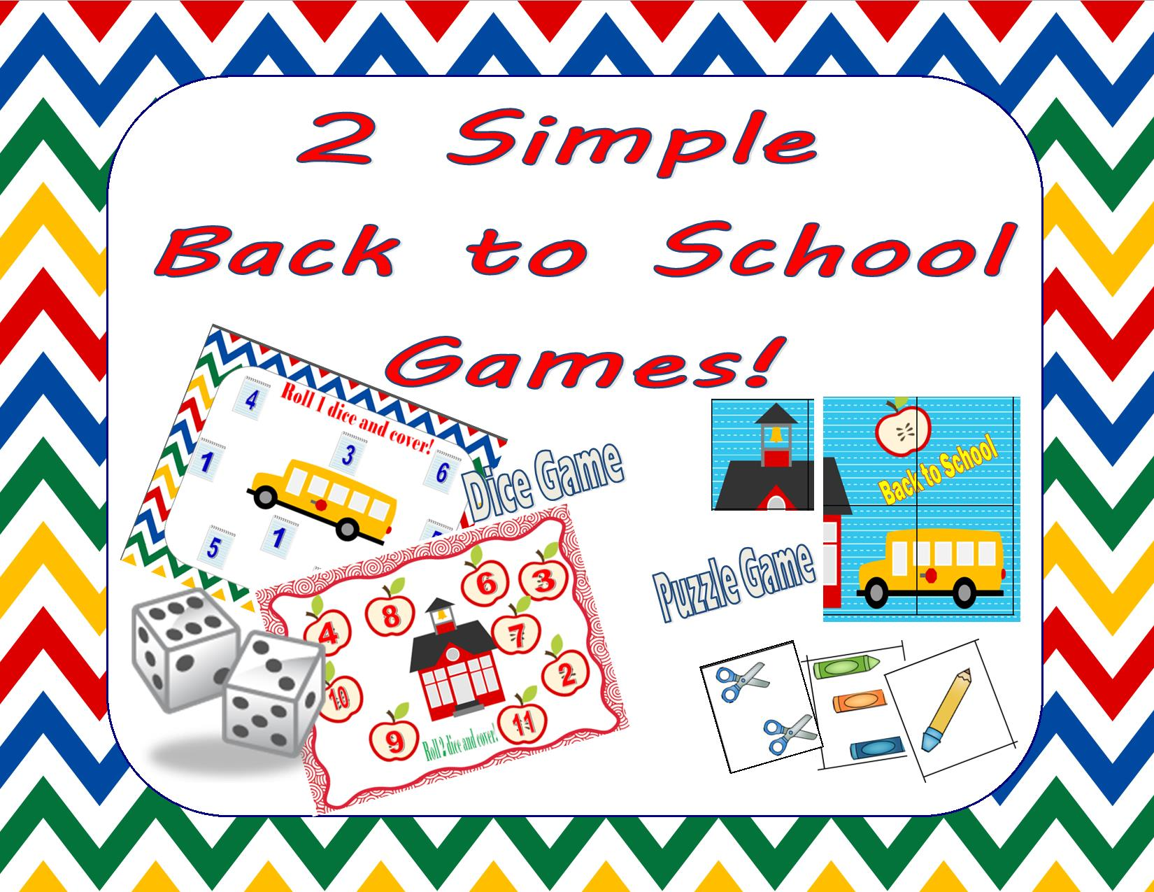 Free Back 2 School Roll And Cover Teaching Heart Blog